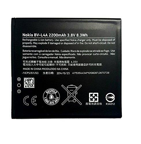 Original 2200mAh 3.8v Nokia Battery BV-L4A for Nokia Lumia 540 Lumia 830 RM-984 RM-985 Tesla in Non-Retail Packaging.