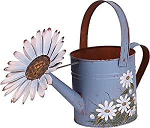 Attraction Design Antique Finish Spring Watering Can (Blue)