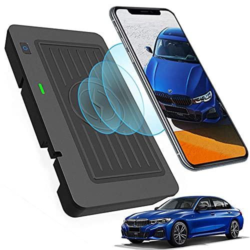Panel de Accesorios de La Consola Central AutomóVil Cargador InaláMbrico, para BMW 3 Series G20 2019 2020 2021, Qi Smartcarga InduccióN RáPida Almohadilla para iPhone Samsung