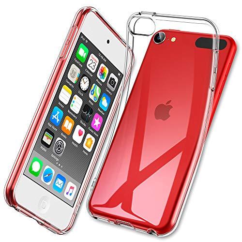 ESR iPod Touch Hülle kompatibel mit iPod Touch 7/iPod Touch 6 Hülle - Dünne klare Weich-TPU Schutzhülle für iPod Touch 7.Gen/6.Gen mit präzisen Ausschnitten & erhöhten Kanten - Klar