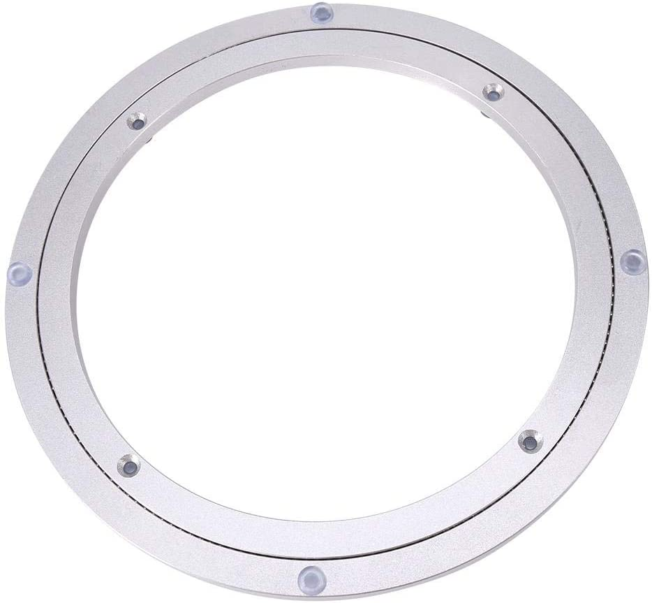 Bearing Turntable for Kitchen for Cake Decorations Round Dining Table Rotating Hardware Turntable 10 inch * H8.5MM Rotating Turntable