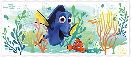 RoomMates RMK3220GM Finding Dory and Nemo Peel And Stick Giant Wall Graphic,Multicolor