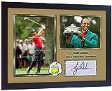SGH SERVICES NEU! Gerahmtes Poster Tiger Woods 2019 Golf