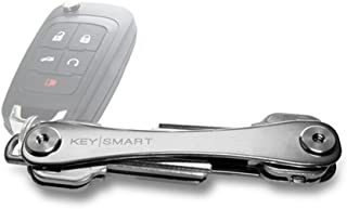KeySmart - Compact Key Holder and Keychain Organizer (Titanium)