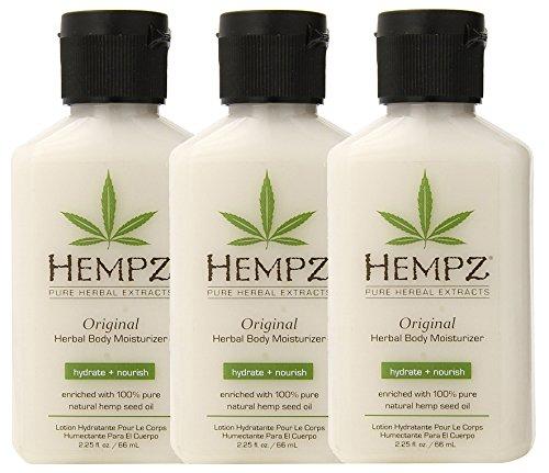Hempz Original Herbal Body Moisturizer BLNcM, 3Units (2.25 Fluid Ounce)