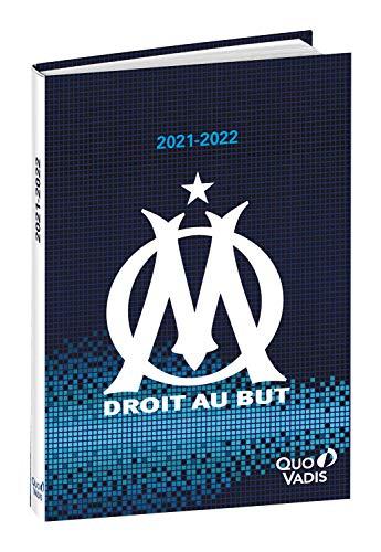 Quo Vadis Olympique Marseille TEXTAGENDA Agenda scolaire Journalier 12x17cm Pixel Année 2021-2022