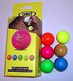 6 bolas de madera para petanca Obut aprobadas para competencias...