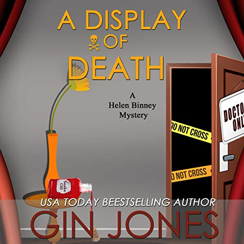 A Display of Death  audiobook cover art