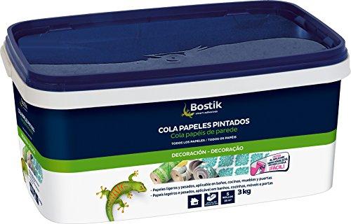 Bostik 30608317 Cola para empapelar, Rosa, 3 kg