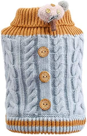 Mawson-Soft Luxury Little Dog Cat Knited with Cartoo Spring new work Jumper Sweater