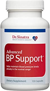 Sponsored Ad - Dr. Sinatra's Advanced BP Support Supplement for Healthy Blood Pressure, 120 Capsules (30-Day Supply)