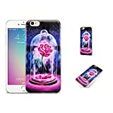 GSPSTORE iPhone 7 Case,Beauty and The Beast Cartoon Hard Plastic Protector iPhone Case Cover for iPhone 7#14