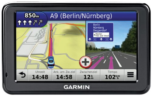 Garmin nüvi 2445 LMT CE Navigationsgerät (10,9 cm (4,3 Zoll) Display, 3D Traffic, Zentraleuropa, Lifetime Map Update, Text-to-Speech)