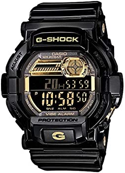 Casio G-Shock Men's Quartz Alarm Black Digital Timer 51mm Watch