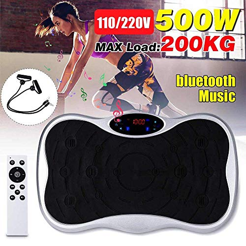 XBSLJ Vibration Exercise Machine Best Lose Fat Vibration Plate Optimum Weight Loss Whole Body Shaking 3D All Directional Vibration Fitness Trainer Swinging Platform Fitness Machine Thin Arms Thin