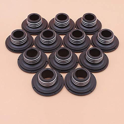 LIBEI 12 unids/Lote Engranaje helicoidal de accionamiento de Bomba de Aceite para Motosierra Husqvarna 135 135e 140 140e