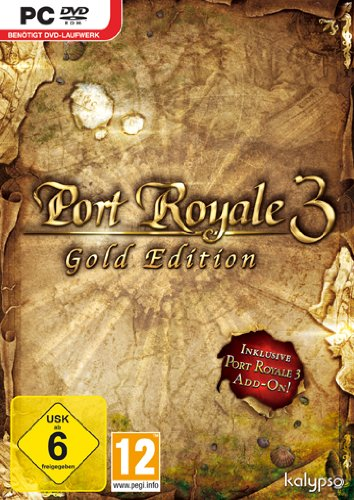Kalypso Port Royale 3 Gold (PC) - Juego (PC, Estrategia, DEU, 3000 MB, 2048 MB, 2GHz)