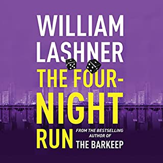 The Four-Night Run audiobook cover art