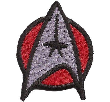 Star Trek StarTrek Captain Uniforme Disfraz RojoParche nadadores