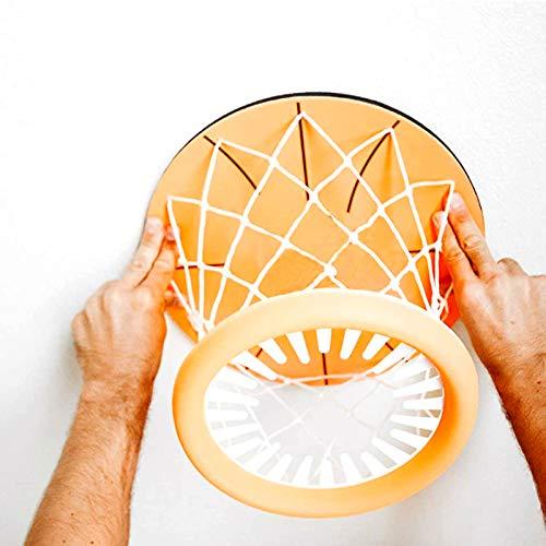 YOUPOU Mini aro de baloncesto juguetes deportivos equipados con baloncesto y aro de baloncesto para niños, la mejor opción de regalo de cumpleaños para niños para mantenerse en forma