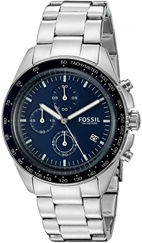 Fossil Men's CH3030 Sport 54 Analog Quartz Chronograph Stainless Steel Watch -  Fossil Watches