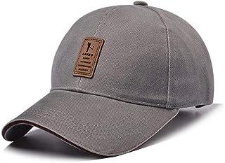 Tefamore Unisex Classic Cotton Leopard Baseball Cap Sun Hat Adjustable Plain Caps