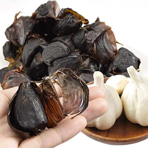 国華園 青森産 ご家庭用 波動熟成黒にんにく 特級品 バラ 200g 2袋 メール便