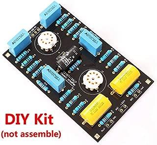 FidgetKute Low Noise Stereo Tube Preamplifier Preamp Board DIY Kit for 12AX7 / 21AU7 Tube