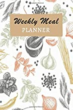 Weekly Meal Planner: 52 Week Food Planner With Grocery Shopping List To Track And Plan Your Meals