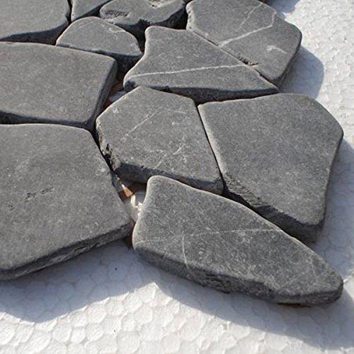 Marmor Bruch Mosaik Fliesen Schwarz Marquina