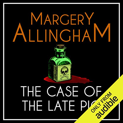The Case of the Late Pig audiobook cover art