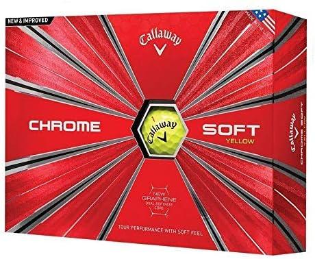 優先配送 Callaway Golf Chrome Soft Balls Generat One Dozen Prior お得セット