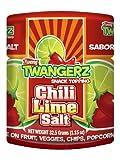 Twang Twangerz Flavored Salt Snack Topping - Lime, Lemon Lime, Chili Lime & Dill Pickle (Chili Lime, 4 Pack)