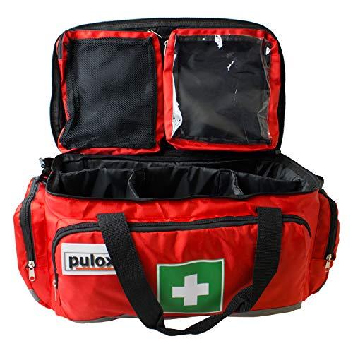 Pulox Erste Hilfe Tasche, Notfalltasche, Erste Hilfe Set (Tasche Einzeln) 44 x 27 x 25cm