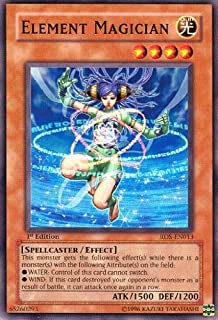 2004 Rise of Destiny 1st Edition # RDS-EN13 Element Magician / Single YuGiOh! Card in Protective Sleeve