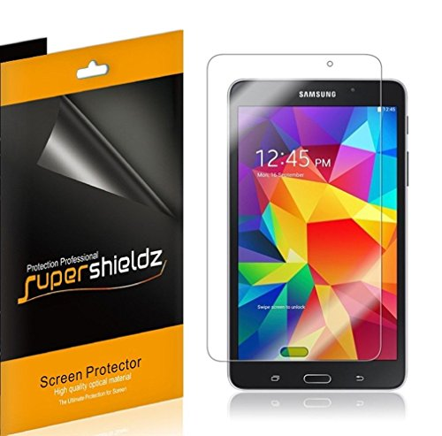 (3 Pack) Supershieldz Designed for Samsung Galaxy Tab 4 7.0 inch Screen Protector, High Definition Clear Shield (PET)