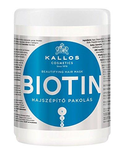 Kallos KJMN Biotin Haarmaske fürs schöne Haar, 1000 ml