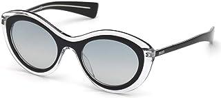 16a2f373736c Sunglasses Emilio Pucci EP 0080 03B black/crystal / gradient smoke