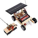 ACHICOO - Puzzle de Madera para Montar en el Coche, Funciona con energía Solar, Juego de Juguetes para niños