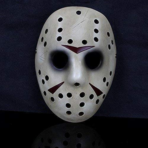 Creative Designs Masque de Hockey Solide résine Cosplay d'halloween Costume Déguisement Tueur en série