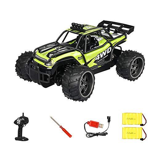 RC Car, control remoto Coches de escalada en carretera, camión eléctrico, modelo de juguete de carreras de alta velocidad 4WD con dos baterías recargables, escalada 45 °, 25 km / h, regalos para niños