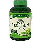 Ultra Soy Lecithin Capsules 1200 mg | 120 Softgels | Non-GMO, Gluten Free | by Nature's Truth