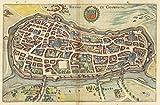 Reims Poster Reproduktion – Format 50 x 70 cm Luxuspapier