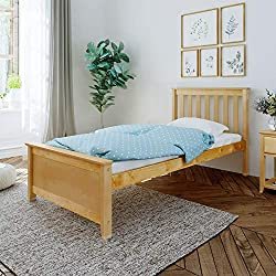 Max & Lily Solid Wood Twin-Size