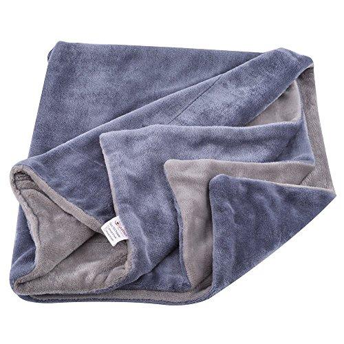 PUPTECK Reversible Dog Bed Blanket