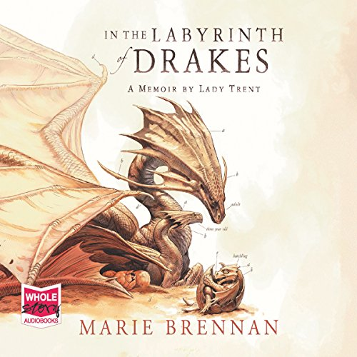 In the Labyrinth of Drakes                   By:                                                                                                                                 Marie Brennan                               Narrated by:                                                                                                                                 Kate Reading                      Length: 10 hrs and 31 mins     2 ratings     Overall 3.5