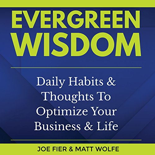 Evergreen Wisdom audiobook cover art