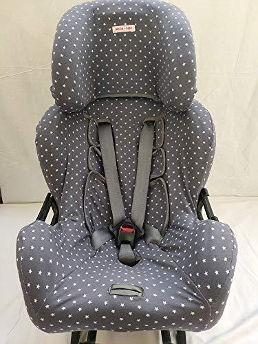 MOON-BEBE Funda para silla de coche Klippan Kiss 2 Y KLIPPAN PLUS (GRIS)