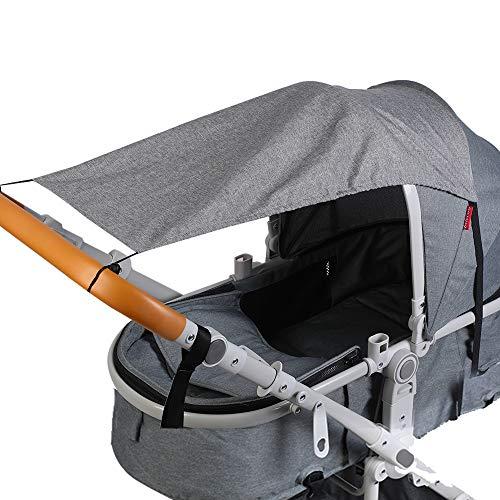 SOUARTS NET FOR BABY STROLLER FULL COVER NETS BREATHABLE FOLDABLE SUNSHADE NET ON SUMMER