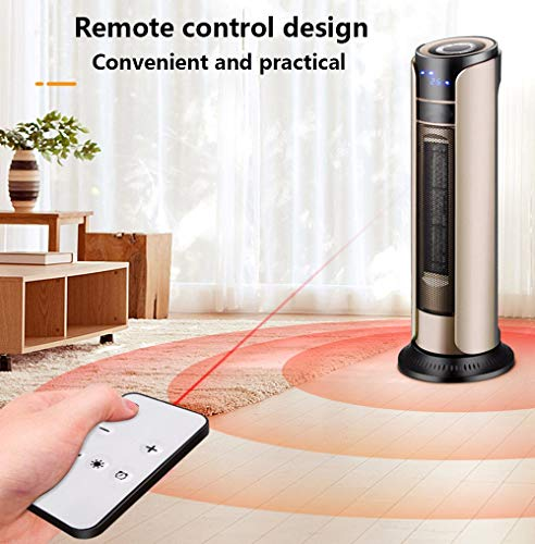 51ozCFaCshL - MZGN Fan Heater, Portable Electric Heater 2000W, with 3 mode, 0-12 Hrs Timer, 180°Oscillation & Overheat Protection Low…